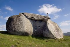 What do you think of this crazy ‪#‎stonehouse‬ tucked into the Fafe Mountains in ‪#‎Portugal‬?