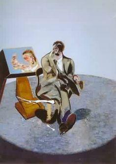 Francis Bacon   Studio di George Dyer allo specchio (1968)