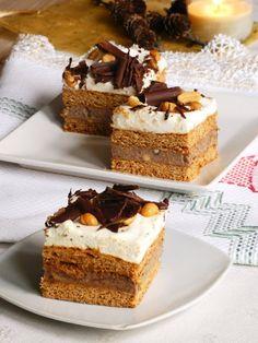Izioni pyszne smaki: Ciasto miodowe z kremem czekoladowym i orzeszkami ziemnymi Tiramisu, Ethnic Recipes, Easy, Honey Cake, Peanuts, Accessories, Bakken, Tiramisu Cake