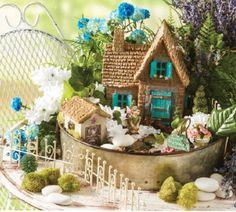 Create a Magical World in your Garden with this easy DIY Fairy Rock Garden   Fairy Gardens