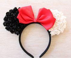 101 Dalmatians Ears Mickey Ears, Cruella Deville Mickey Ears, 101 Dalmatians Ears, Cruella Deville Ears, Disney Ears, Mickey Ears, Cruella