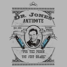 """""""For the poison you just drank."""" How nice of you to provide an antidote."""