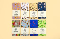 The Beautiful Chocolee Branding Project by Kathy Wu. Candy Packaging, Chocolate Packaging, Food Packaging, Packaging Design Inspiration, Graphic Design Inspiration, Book Cover Design, Book Design, Chocolate Brands, Layout