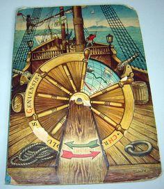 Ancien ANCIEN 1960 LIVRE pop-up Christopher Columbus par gatonegro1
