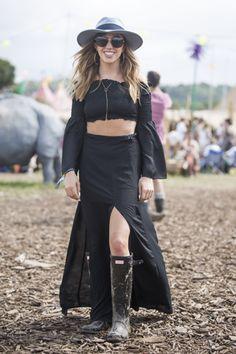 Glastonbury Festival 2015 #festival #glastonbury #wefashion