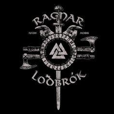Vikings Show, Vikings Tv Series, Viking Logo, Viking Symbols, Travis Fimmel, Viking Wallpaper, King Ragnar, Roi Ragnar, Viking Quotes