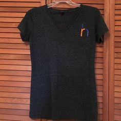 DISTRCT tee V neck.  Great shape. Darker gray. Says medium fits more like small District  Tops Tees - Short Sleeve