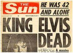 August 16, 1977..I'll never forget the day..
