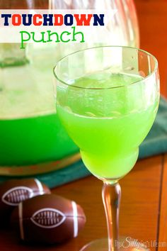 Touchdown Punch, This stuff is so good, you will be finding any excuse to throw a football party!