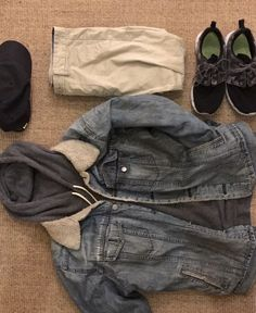 Sweat : Obey Pantalon : Pull&Bear Veste : Vintage Store Casquette : Nike Basket : Nike