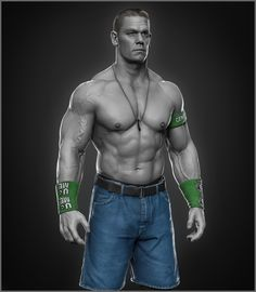 Here is John Cena sculpt I did for WWE https://www.facebook.com/TheArtofHosseinDiba https://www.instagram.com/hossein.diba/