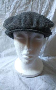 f40dae1a31408 ZARA Accessories Gray Cabbie Newsboy Cap FLAT Hat Size Medium  Zara   NewsboyCap
