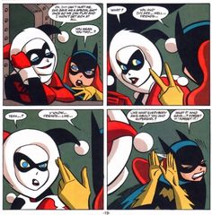 Harley Quinn and Batgirl