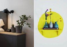 Mit diesen attraktiven Ideen zum Selbermachen verleihen Sie ihrem Zuhause viel Charme und Originalität.