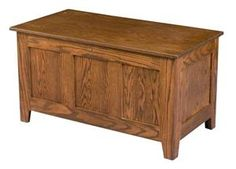 Amish Classic Mission Hope Chest