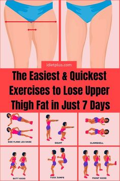 If you want to get smaller thighs and hips and you are wondering why is thigh fa. If you want to get smaller thighs and hips and you are wondering why is thigh fat so hard to lose, then read more in Shred Workout, Gym Workout Tips, Fitness Workout For Women, Fitness Workouts, Easy Workouts, Workouts For Legs, Exercises For Thighs, Inner Leg Workouts, Thigh Exercises For Women