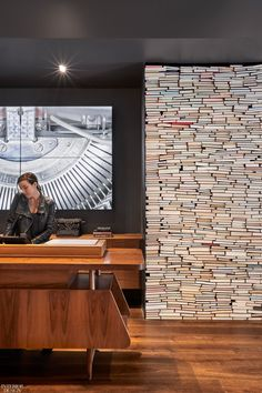 Wilson Ishihara Channels Beat Generation for Hotel Emblem Lobby