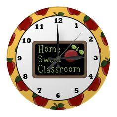 Home Sweet Classroom wall clock