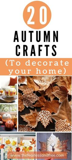20 Stunning Autumn Crafts for Adults