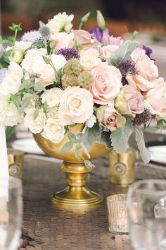 wedding centerpiece idea; photo: Brittany Dow Photography