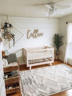 Baby Nursery Decor, Baby Decor, Nursery Room, Girl Nursery Colors, Cottage Nursery, Boho Nursery, Nursery Furniture, Baby Room Neutral, Nursery Neutral