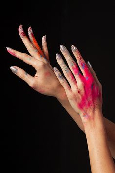 Hand makeup | Ashely Frey- Handmodel ~ nails by me | insta @tlsutter