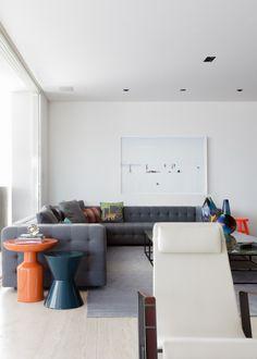 Apartamento Leopoldo Couto Magalhães / Suite Arquitetos #living #lighting
