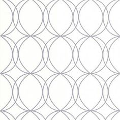 Shop Superfresco Essentials White/Silver Halo Circles Wallpaper at Lowe's Canada. Find our selection of wallpaper at the lowest price guaranteed with price match. Bathroom Wallpaper, Of Wallpaper, Pattern Wallpaper, Closet Wallpaper, Custom Closet Design, Closet Designs, White And Silver Wallpaper, Old Mirrors, Elegant Curtains