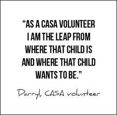 Darryl, CASA Volunteer
