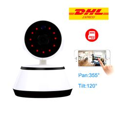 720P HD Wireless CCTV Camera with Motion Detection and Audio  Price: 34.37 & FREE Shipping    #techiegeek Wireless Cctv Camera, Audio, Indoor, Free Shipping, Interior