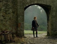 "Jamie Fraser (Sam Heughan) in Episode 213 ""Dragonfly In Amber"" Outlander Season Two Finale on Starz via  https://outlander-online.com/"