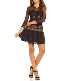 Shop for Gianni Bini Sloan Lace & Mesh Dress at Dillards.com. Visit Dillards.com to find clothing, accessories, shoes, cosmetics & more. The Style of Your Life.