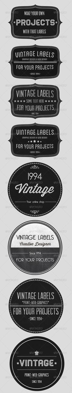 """Vintage badges collection $4.00"" #retro #labels #web"
