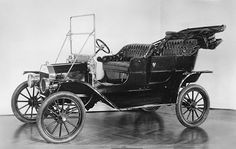 Ford Model T, 1908- led to mass marketing and industrialization through the creation of the assembly line