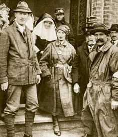 Dorothie Feilding was born into a rich, aristocratic family in Warwickshire, England. She was presented to the King and Queen of England when she was 18 years old, but Fielding shunned her entitled upbringing and jumped into the war effort with both feet.  She became an WWI ambulance driver with a volunteer unit stationed in Belgium. Her bravery earned her the English Military Medal for Bravery presented to her by King George V at Windsor Castle.