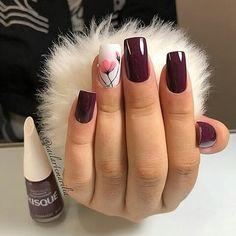 Muita sofisticação pra um modelo Esmalt Glam Nails, Nail Manicure, Beauty Nails, Cute Nails, Pretty Nails, My Nails, Stiletto Nails, Fabulous Nails, Perfect Nails