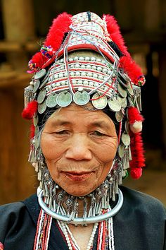 Golden Triangle | Akha Hilltribe woman | ©Stuart Robertson Reynolds
