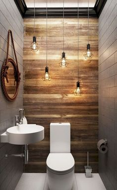 Cool modern farmhouse bathroom design ideas (90)