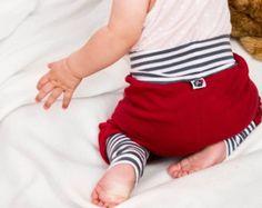 Pantalón bombacho bebé orgánico Jersey shorts de por kandatsu