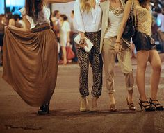 long skirts, leopard, neutrals, oh my!