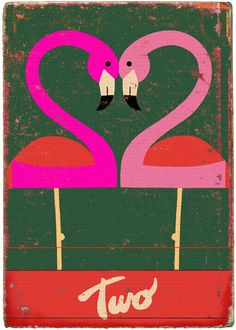vintage inspired // From the Numbers set by Paul Thurlby