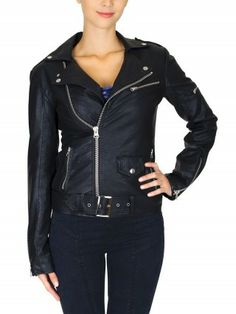 Awesome!! The Pussy Deluxe VEGAN leather jacket!