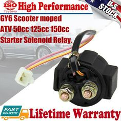 Starter Relay Solenoid for Honda//Yamaha Super dirt BIKE ATV110 125 150 200 250cc