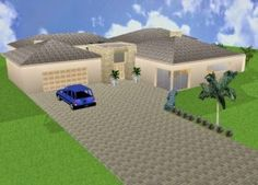 Amazing Free South African House Plans Pdf Africa Home Designs Single Storey House Plan South Africa Images - House Plan Ideas : House Plan Ideas Tuscan House Plans, Modern House Plans, Single Storey House Plans, House Plans South Africa, African House, House Plans With Photos, Story House, Image House, Building Plans