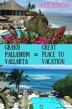 Grand Palladium Vallarta (GPV) in Mexico stands for Great Place to Vacation! Come see why this all-inclusive resort has everything to offer travelers to Puerto Vallarta.