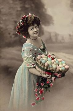 Easter-vintage photo