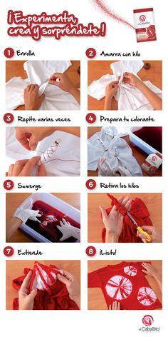 Tie Dye Folding Techniques, Fabric Dyeing Techniques, How To Tie Dye, How To Dye Fabric, Tye Dye, Diy Tie Dye Shirts, Natural Dye Fabric, Tie Dye Crafts, Tie Dye Fashion