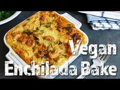 Vegan Enchilada Suiza Bake with Chickpea Flour Tortillas (Vegan +WFPB + oil free + gluten free) This recipe was developed out of my love for chickpea flour a. Veggie Enchilada Casserole, Veggie Enchiladas, Vegan Casserole, Vegetarian Enchiladas, Mexican Food Recipes, Whole Food Recipes, Vegan Recipes, Vegan Food, Chickpea Flour Recipes