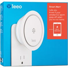 The Leeo Smart Alert™ is the only plug-in device that lets you know if your existing smoke and carbon monoxide alarms go off when you're away from home.