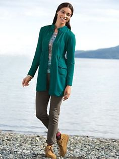 Women's Knit Knack Jacket and Jag Pants Outfit | See All Our Fall Outfits, Only At Sahalie! :)
